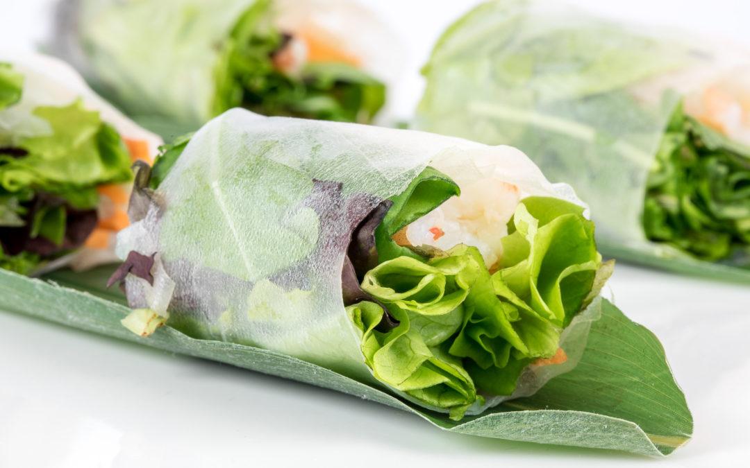 Involtini Vietnamiti, un antipasto asiatico leggero e gustoso della tradizione Vietnamita
