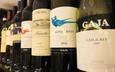 La carta dei vini del ristorante asiatico DOU di Milano con oltre 40 cantine
